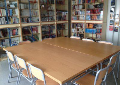 Biblioteca i sala de lectura