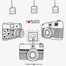 màquines de fotos dibuxades