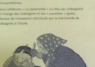 Mostra francès A1. La Toussaint en France et en Catalogne